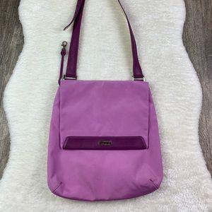 Tuning Crossbody Bag in Lavender/Purple